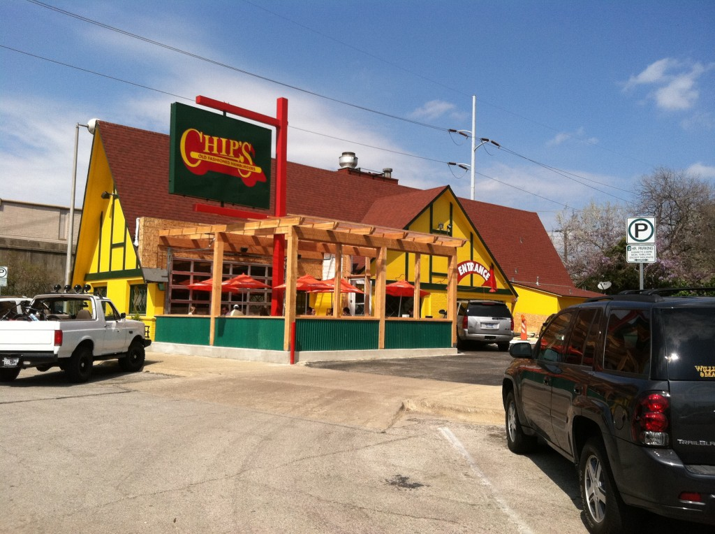 Chips Old Fashioned Hamburgers Restaurant Tollway And