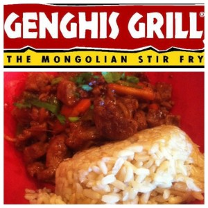 Genghis Grill: Heart Healthy Beef Bowl