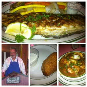 Nate's Seafood - redfish