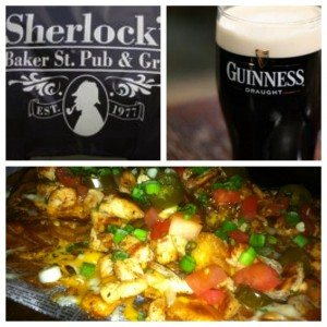 Sherlock's Pub - nachoes