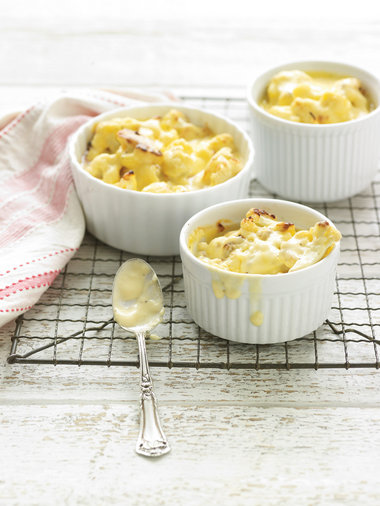 "Recipe: Cauliflower ""Mac N Cheese"""