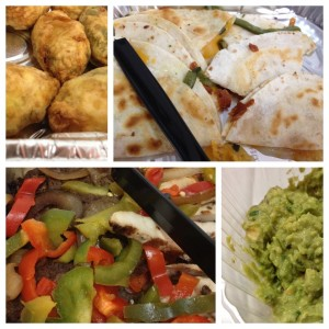 On the Border Catering :: stuffed jalapenos, quesadillas, guac & fajitas