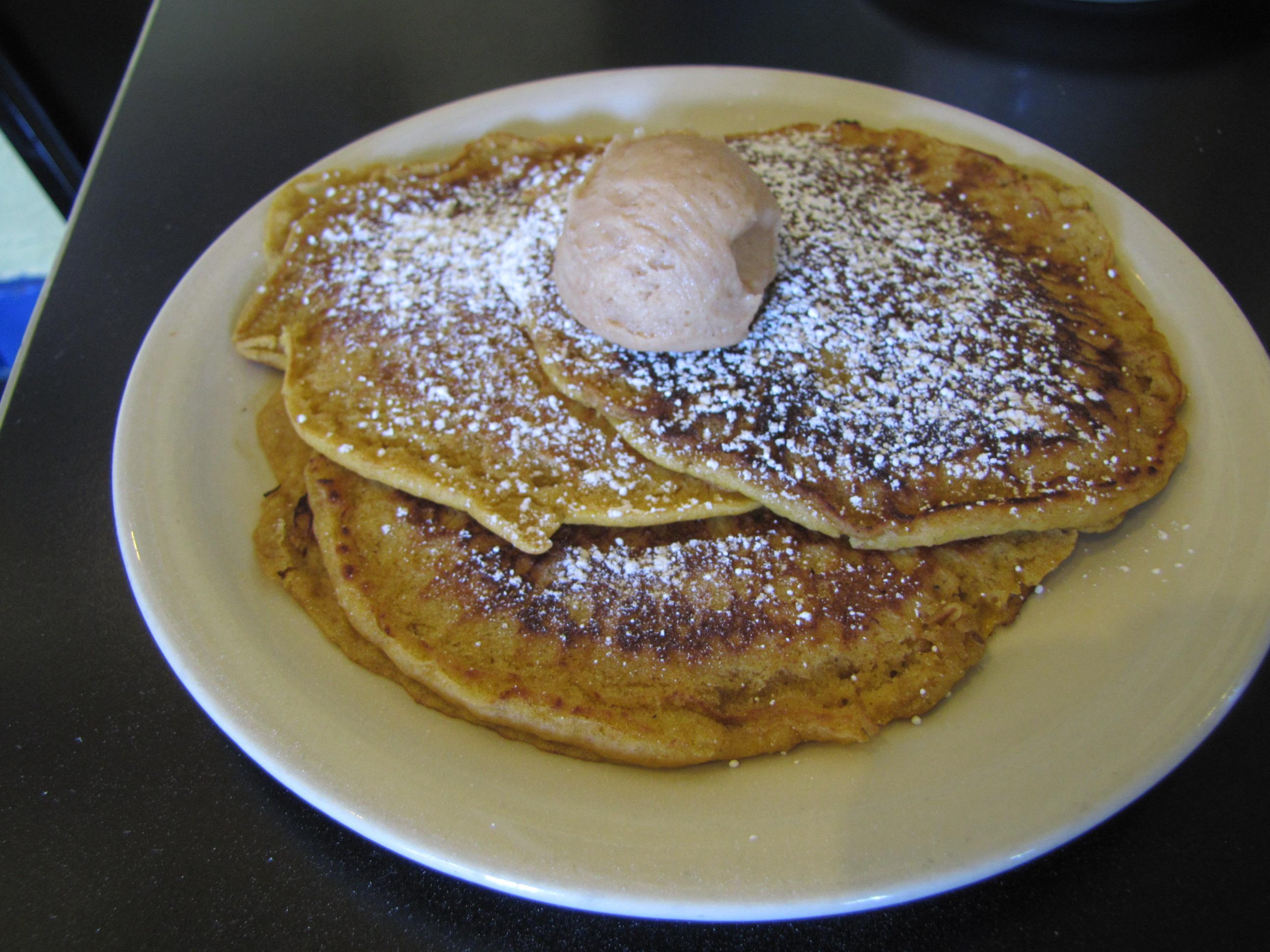 Cafe Brazil Pumpkin Pancakes