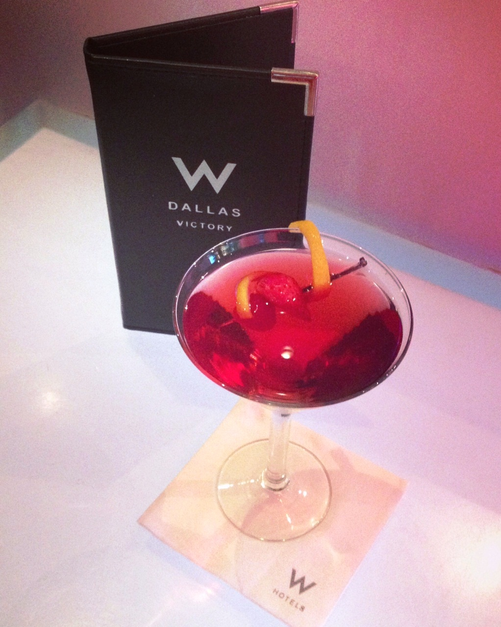 The W Dallas – Victory Hotel Goes Red For Women With Two Exclusive Cocktails This February