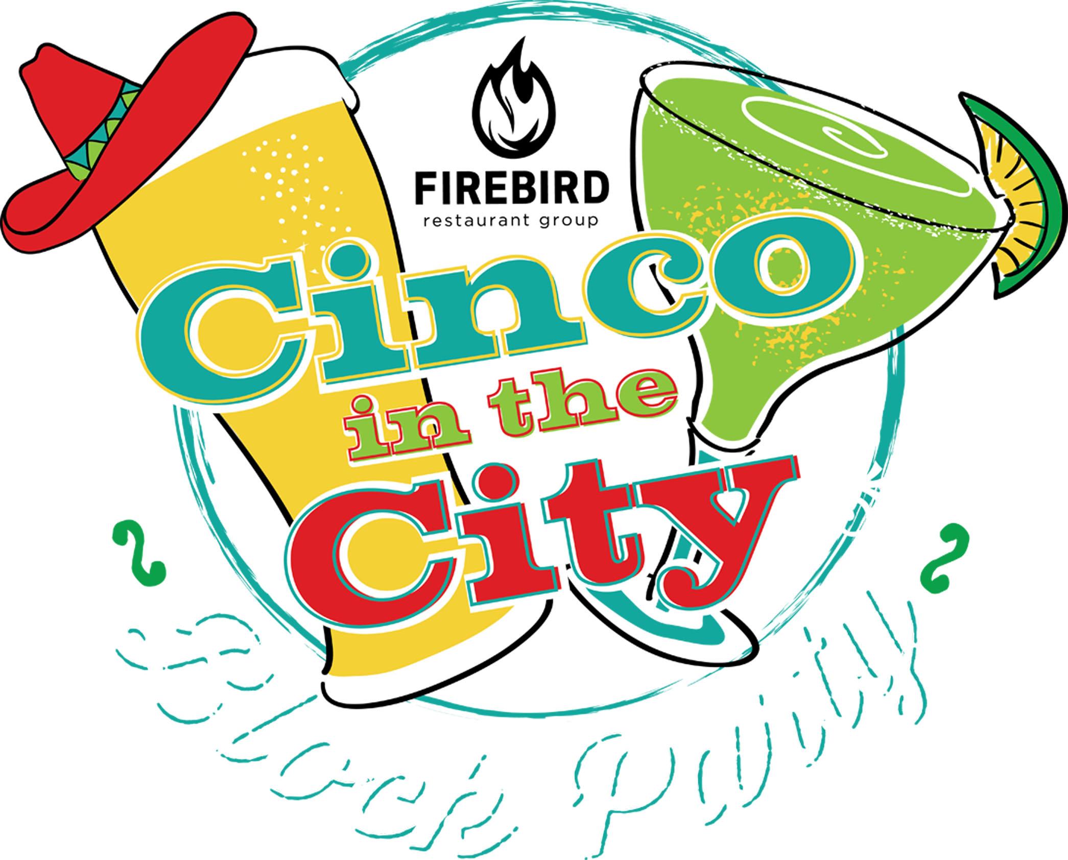 Cinco in the City logo