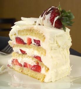 White Chocolate Berry Cakeportfolio