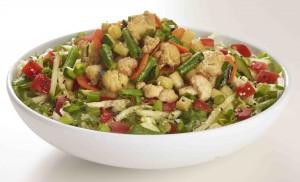 Wok Roasted Vegetable Salad