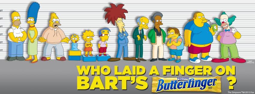 Bart Simpson Butterfinger