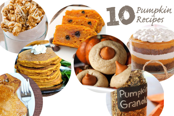 10 Pumpkin Recipes to try for Thanksgiving or Christmas parties