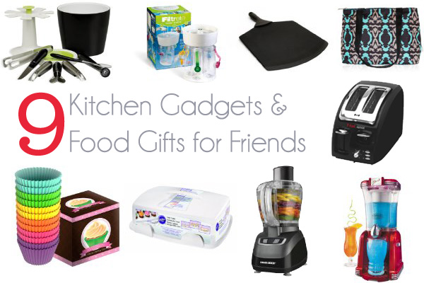 9 Kitchen Gadget & Food Gifts for Friends