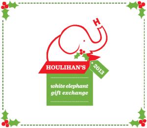 White Elephant Gift Exchange Logo houlihan's-white-eleph...