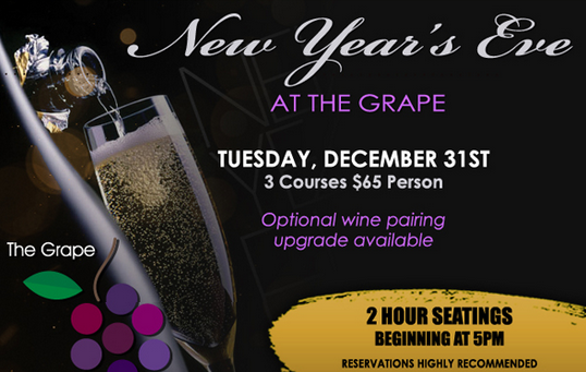 New Year's Eve 2014 at The Grape in Dallas