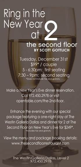 NYE at The Second Floor