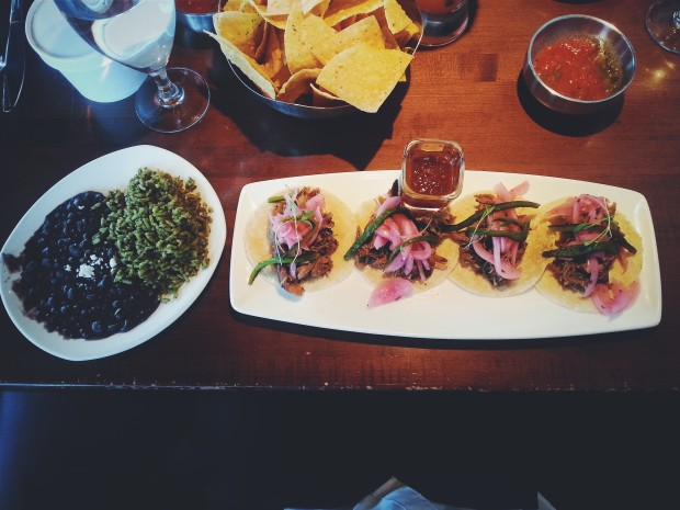 Duck Carnitas Street Style Tacos at Mi Dia / Grapevine, TX