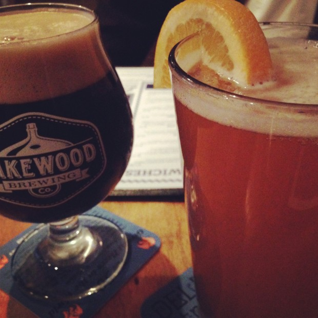 Lake House Beers: Temptress and Blood & Honey