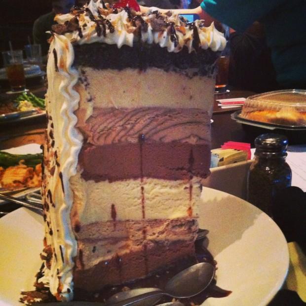 Dessert at Champps // dallasfoodnerd.com