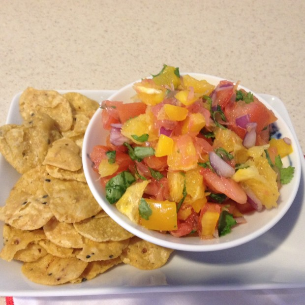 citrus salsa via dallasfoodnerd.com