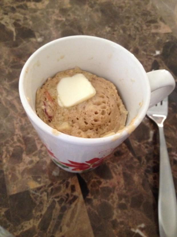 Apple Pancake Puff_meals in a mug via dallasfoodnerd.com