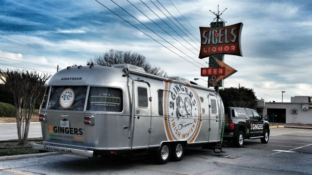 2 Gingers Whiskey Dallas Airstream
