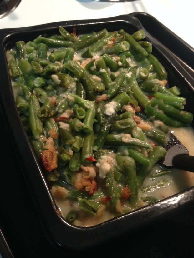green bean casserole via dallasfoodnerd.com