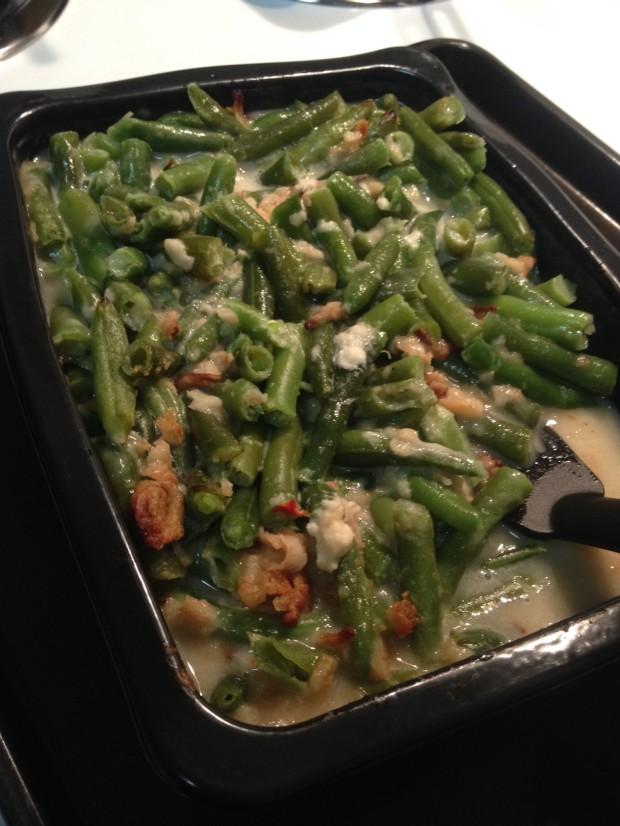 green bean casserole via dallasfoodnerd.com