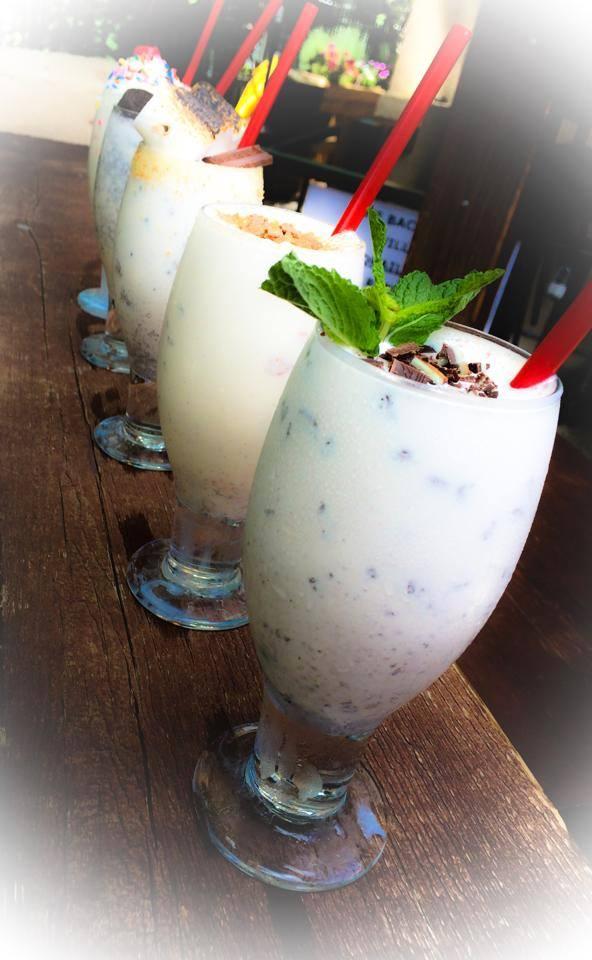 Boozy Milkshakes at the social house uptown dallas via dallasfoodnerd.com