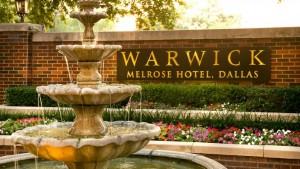 90th anniversary of Warwick Melrose Hotel in Dallas via dallasfoodnerd.com