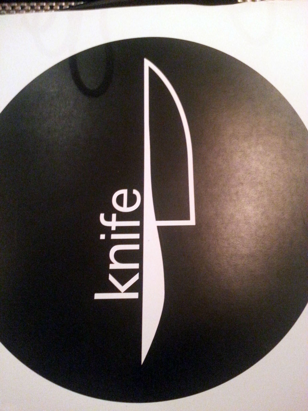 John Tesar's Knife via dallasfoodnerd.com