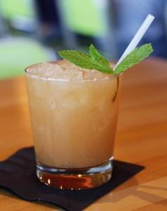 Blood Orange Bourbon summer drink via dallasfoodnerd.com