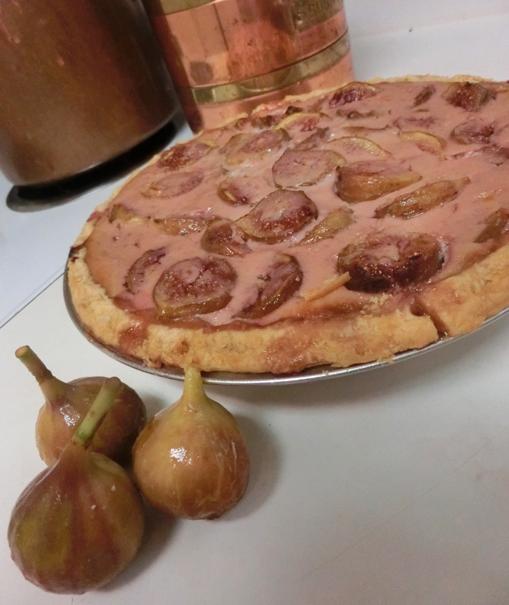 Raspberry Fig Tart via dallasfoodnerd.com