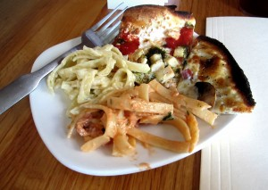 Pizzas and pastas via dallasfoodnerd.com