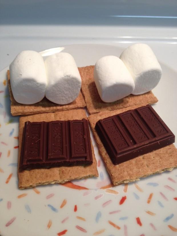 Hersey's homemade smores via dallasfoodnerd.com