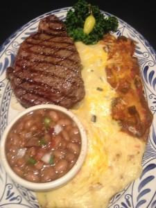 steak and chicken plate at abuelo's via dallasfoodnerd.com