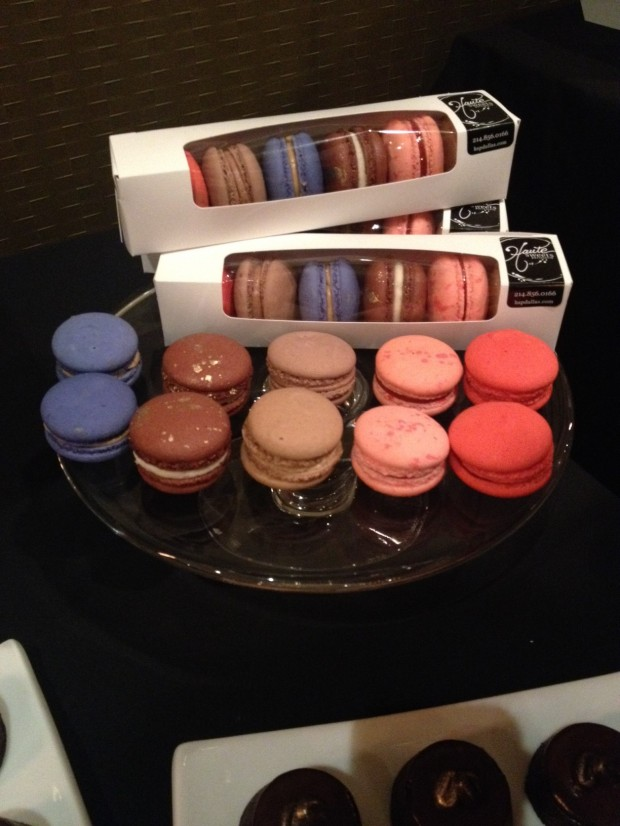 A variety of scrumptious macarons from Haute Sweet Patisserie via dallasfoodnerd.com