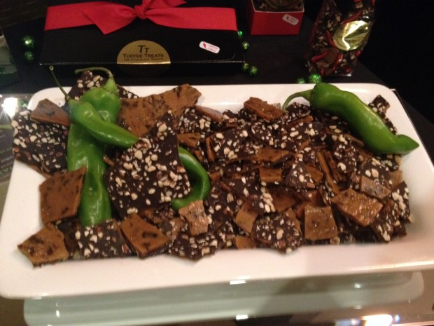 toffee with hatch chilie via dallasfoodnerd.com