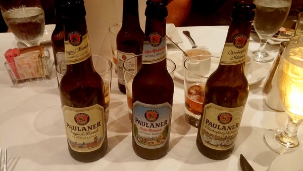 Paulaner Beer Selection