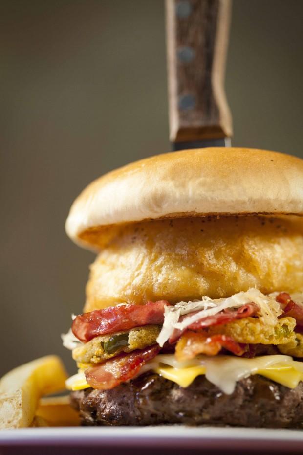 OMG Burger at bennigan's via dallasfoodnerd.com