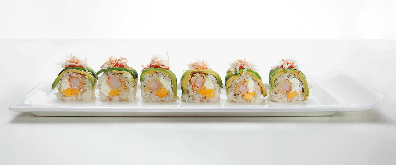 Roy's Restaurant - Ebi Roll via dallasfoodnerd.com