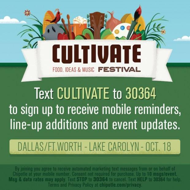 chipotle cultivate festival via dallasfoodnerd.com