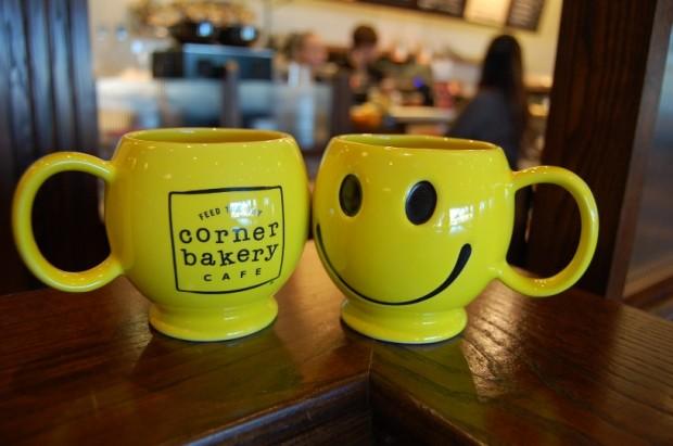 corner bakery hosts free mug giveaway on Oct. 3 via dallasfoodnerd.com