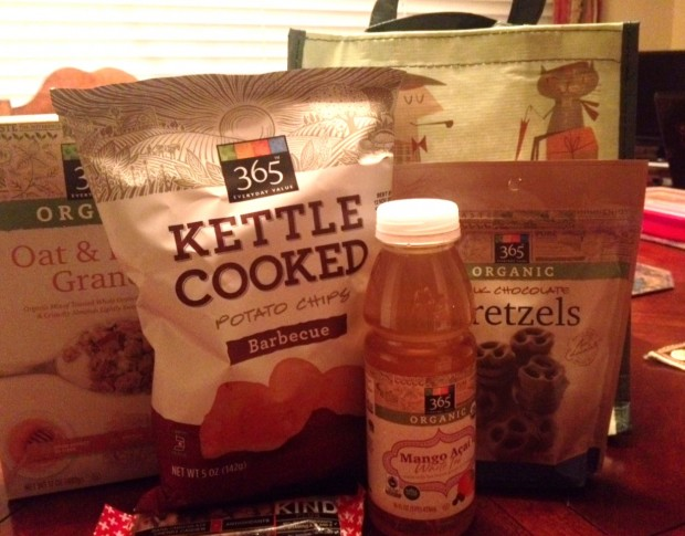goodie bag from whole foods highland village via dallasfoodnerd.com