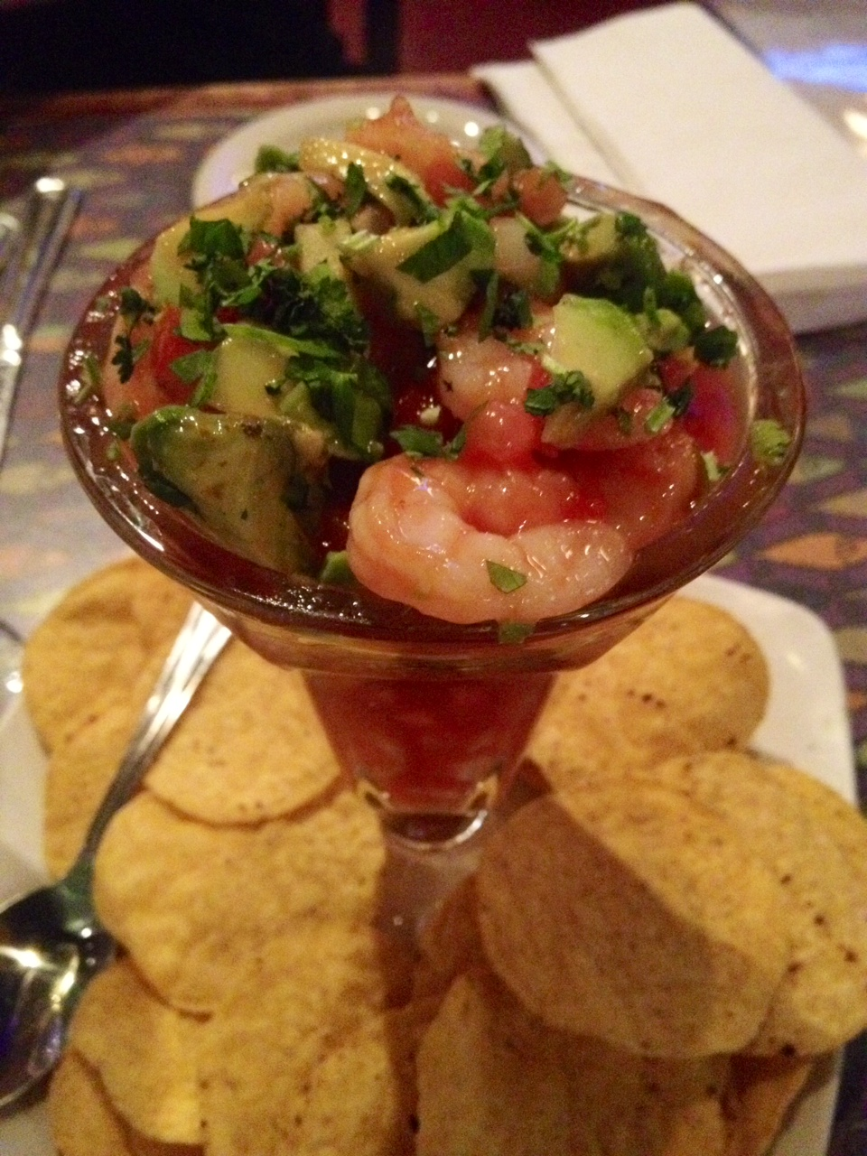 Raphael's Mexican Shrimp Cocktail via dallasfoodnerd.com