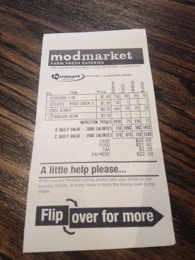 modmarket reciept via dallasfoodnerd.com