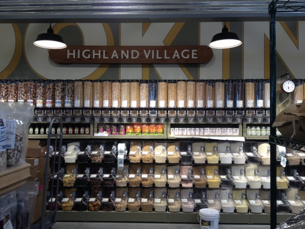 whole foods highland village - mix and match grains and spices via dallasfoodnerd.com