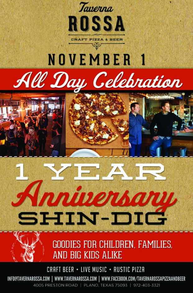 taverna rossa hosts anniversary party via dallasfoodnerd.com