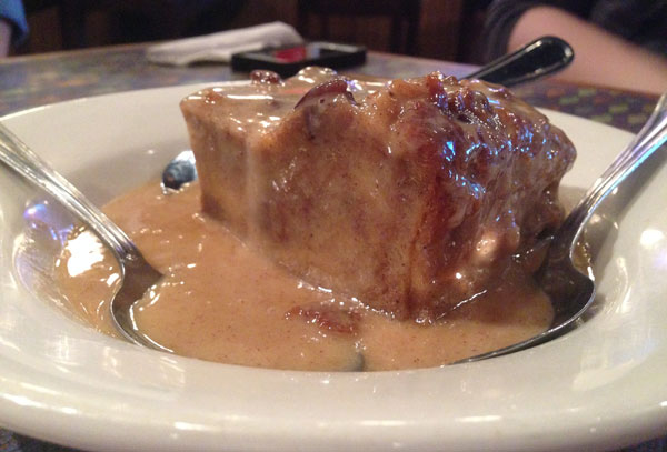 Fish City Grill - Bread Pudding