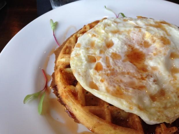 BW waffle at henrys majestic