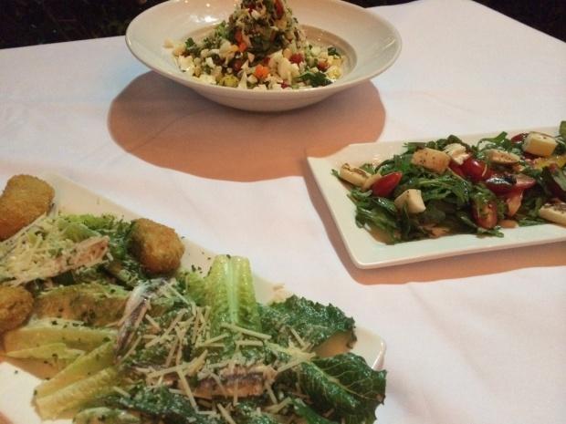 hearty salads at Nylo Hotel via dallasfoodnerd.com