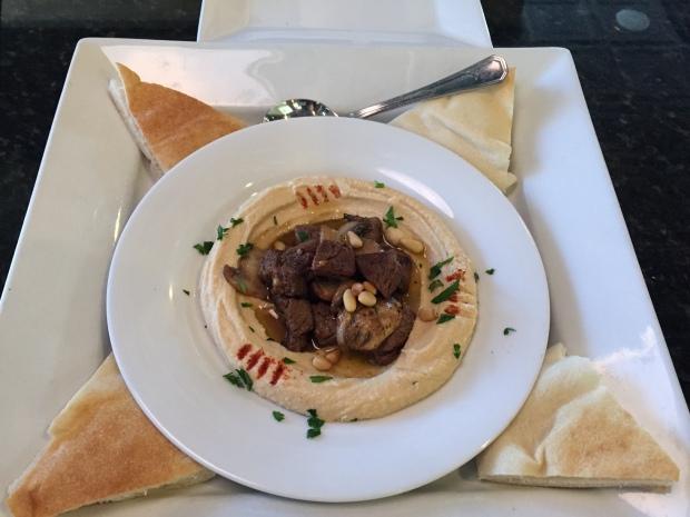 hummus at Carmel in Coppell via dallasfoodnerd.com