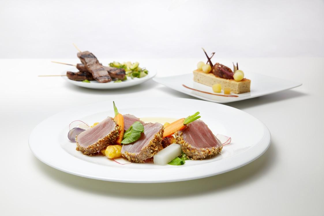 The Northeast Asia Prix Fixe menu items from roy's via dallasfoodnerd.com